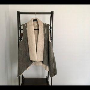 Anthropologie Amadi Faux Fur Vest